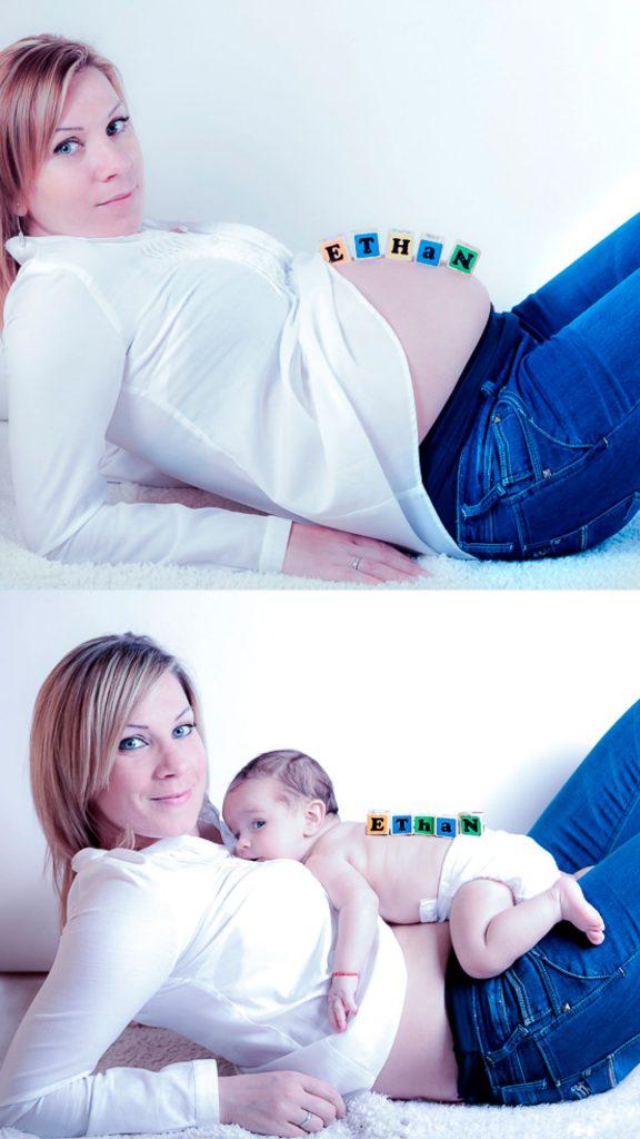 fotografía embarazo madrid y retoque